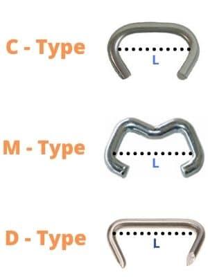 how to measure hog rings