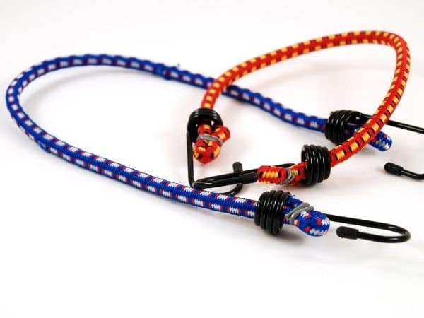 how to assemble bungee cord hooks with hog rings