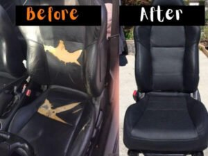 how to install car seat covers with hog rings