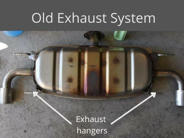 exhaust hangers
