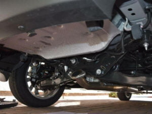 how to remove exhaust system