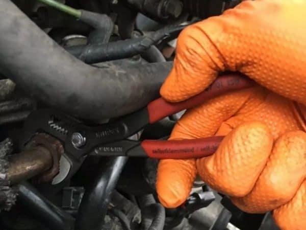 pliers for automotive repair work